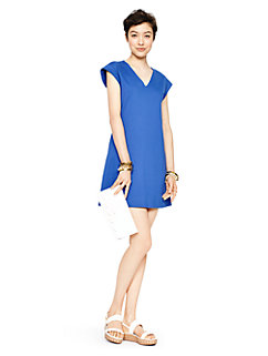 ponte a-line dress by kate spade new york