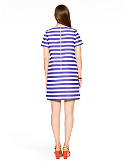 yarn dyed stripe shift dress by kate spade new york
