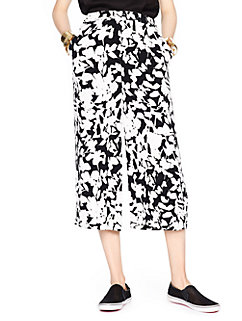 leafy floral synna pant by kate spade new york