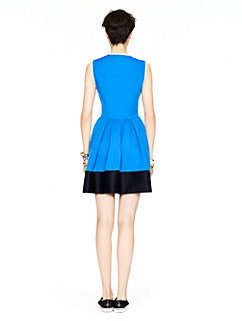 colorblock scuba dress by kate spade new york