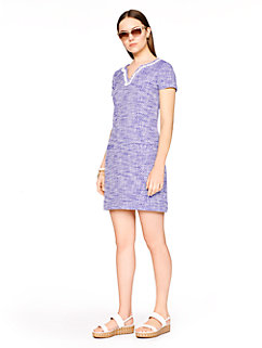 graphic tweed tunic dress by kate spade new york
