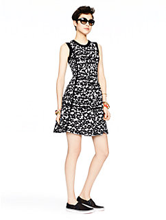 floral jacquard dress by kate spade new york