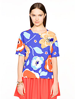 multi floral ramona top by kate spade new york