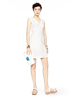 madison ave. collection tweed noella dress by kate spade new york