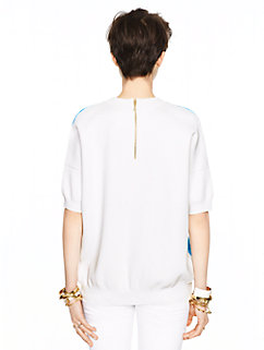 madison ave. collection raylen top by kate spade new york