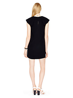 madison ave. collection satin crepe carenza dress by kate spade new york