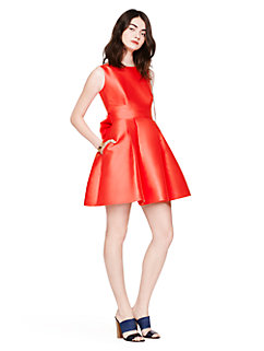 open back silk mini dress by kate spade new york