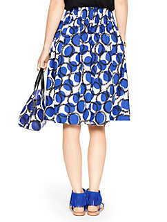 stamped dots blaire skirt by kate spade new york