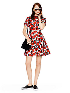 stamped dots shirtdress by kate spade new york