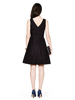 pleated hem silk cotton dress by kate spade new york