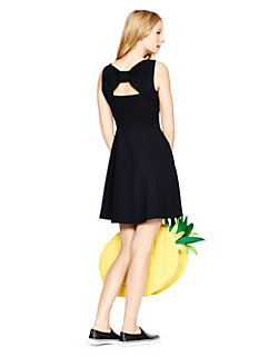 ponte bow back dress by kate spade new york