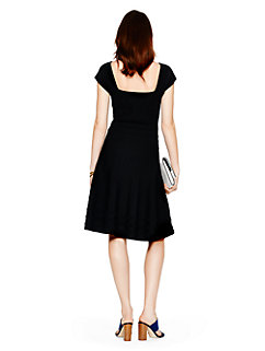 cap sleeve scuba dress by kate spade new york
