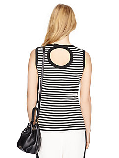cameo back sleeveless top by kate spade new york