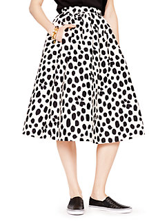 madison ave. collection wild dots tansy skirt by kate spade new york