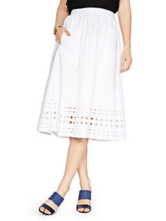 madison ave. collection geo tansy skirt by kate spade new york