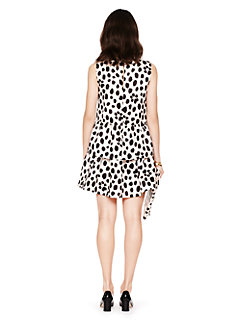 madison ave. collection wild dots karis dress by kate spade new york