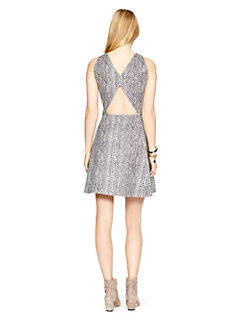 madison ave. collection leather alani dress by kate spade new york