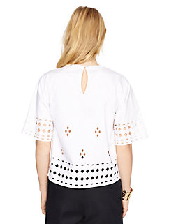 madison ave. collection jenisa top by kate spade new york