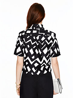 madison ave. collection safira shirt by kate spade new york