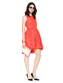 high low lace dress by kate spade new york