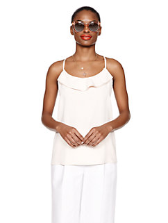 ruffle front cami by kate spade new york