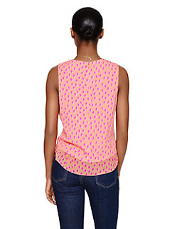 leopard dot layered tank by kate spade new york