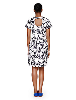 graphic floral lace dress by kate spade new york