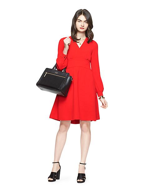 Kate Spade Tie Back Dress, Lollipop Red - Size 2