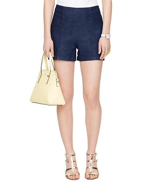 Kate Spade Mid Rise Short, Dark Denim - Size 25