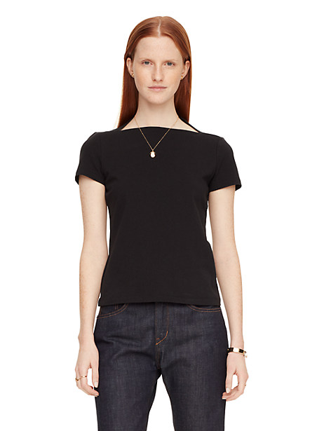 Kate Spade Everyday Tee, Black - Size S