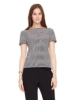 stripe everyday tee by kate spade new york