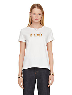 i do i did tee by kate spade new york