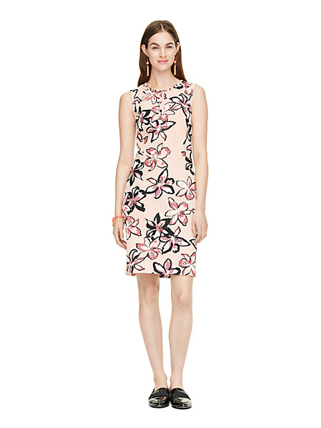 Kate Spade Tiger Lily Emrick Dress, Antilles Bubbles - Size 10