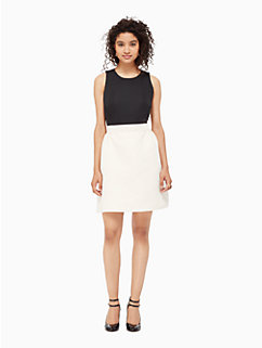 satin faille bow back dress by kate spade new york