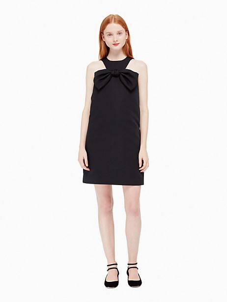 Kate Spade Bow Shift Dress, Black - Size 0