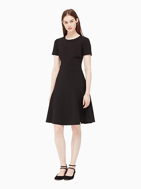 Kate Spade Crepe Flip Dress, Black - Size 0