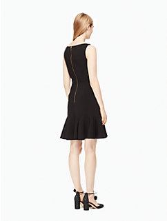 crepe flounce dress by kate spade new york