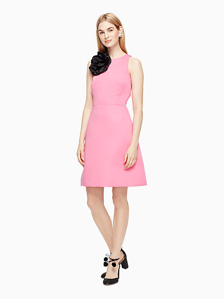 Kate Spade Cammie Dress, Bow Pink - Size 0