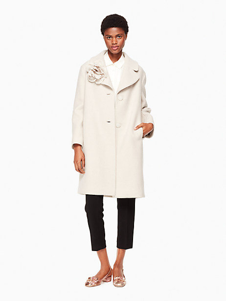 Kate Spade Malerie Coat, Clay - Size L