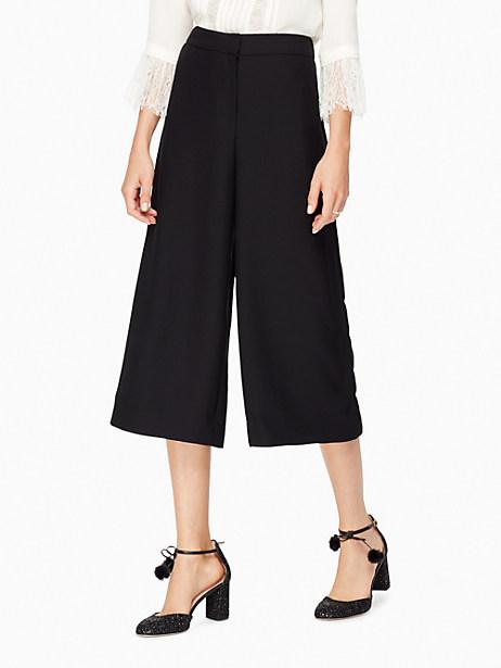 Kate Spade Soft Culotte, Black - Size 10