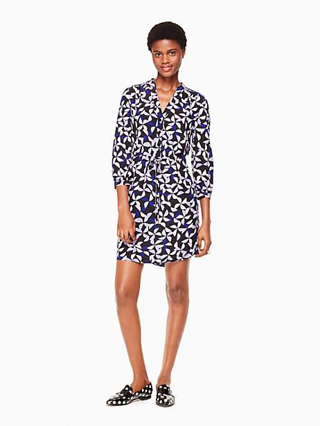 Kate Spade Spinner Shirtdress, Nightlife Blue - Size L