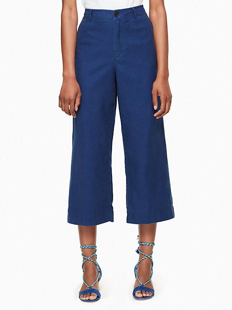 Kate Spade Tomboy Trouser, Navigator Blue - Size 0