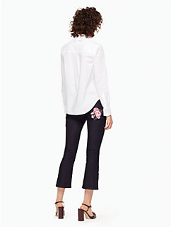delicate poplin shirt by kate spade new york