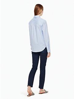 delicate poplin shirt by kate spade new york