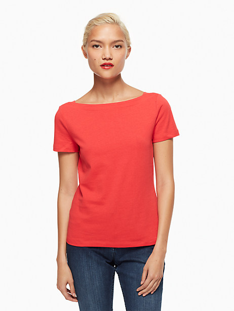 Kate Spade Essential Tee, Paprika - Size L