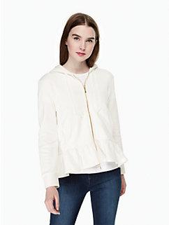 mrs. zip-up sweatshirt by kate spade new york