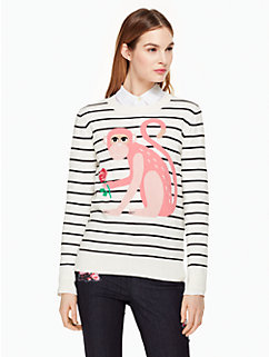 monkey sweater by kate spade new york