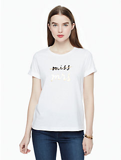 bridal tee by kate spade new york