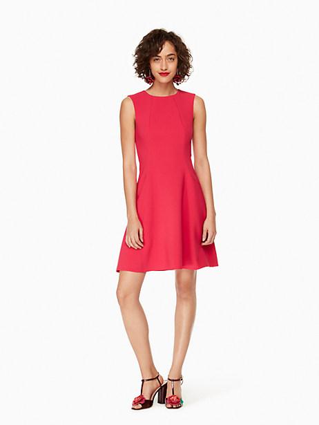 Kate Spade Stretch Crepe Flip Dress, Tagine Pink - Size 0