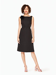 v-back structured dress by kate spade new york